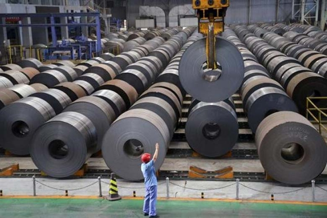 The Production Of Iron And Steel In India